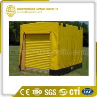 Quality Mildew Resistant Tear Resistant PVC Pallet Tarps for sale
