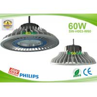 Quality 60w UFO LED High Bay lights for led industrial lighting fixtures , Nichia LED for sale