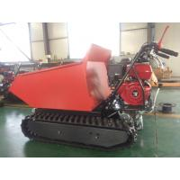 Quality ED300C Gasoline Easy work agricultural crawler tracked dumper mini for sale for sale