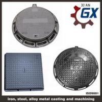China Buy Sewer Heavy Duty Ductile Iron Square And Round Manhole Cover And Frame En124 d400 on sale