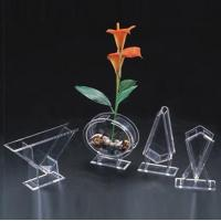 Quality Acrylic Flower Holder & Acrylic Flower Display Rack & Lucite Stand for sale
