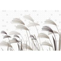 Quality Lightweight Bamboo Fiber Wall Decor Panels Reeds In Wind 8mm Thickness for sale