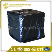 Quality Black Chemically Resistant Polyester Pallet Tarpaulin for sale