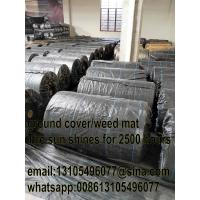 Buy PP woven geotextile weed mat /weed barrier mat for agriculture at wholesale prices