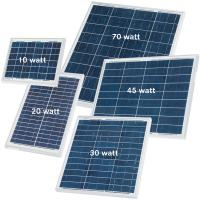 Quality 30 Watt Silicon Solar Panels High Efficiency For Solar Street Light Motion Sensor for sale