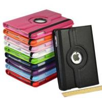 Quality New 360 Rotation Leather Case for iPad Mini, 360 Degree Case for iPad Mini for sale