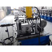 Quality Solar Strut Channel Cold Roll Forming Machine With Servo Feeding Device & Press Punching Machine for sale