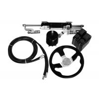 China Easy To Install Outboard Hydraulic Steering Kit 27 Cc/Rev Pump 141.1 Cc Cylinder Volume for sale