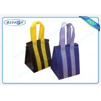 Quality Custom Eco Promotional Long Handle PP Non Woven Garment Bag With Zipper for sale