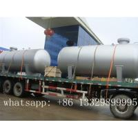 "Quality ""CLW"" brand 12m3 bulk surface LPG storage tanker semitrailer for sale, best price 12,000L bulk surface lpg gas tank for sale"