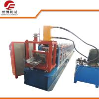 Quality Steel Frame Z Purlin Roll Forming Machine For Building Structure Construction for sale
