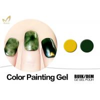 Quality Natural Ingredients Gel Nail Paint For Nail Art Own Brand Printed Available for sale