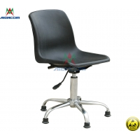 Quality PU Leather 100kgs Load Used Antistatic Lab ESD Chairs for sale