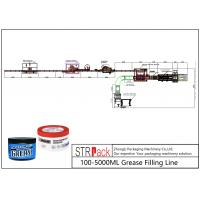 Quality 100 - 5000ml Liquid Soap Filling Machine Grease Filling Line 0.6 - 0.8MPa Working Gas Source for sale