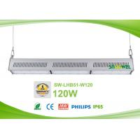 Quality Commercial 120w Led Linear High Bay Dimmable high efficiency 130lm / w for sale