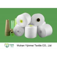 Quality Z Twist High Tenacity Raw White Low Elongation 100 Polyester Yarn for Sewing Thread for sale