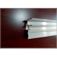 T3 / T6 Industry Anodizing Silver Extruded Aluminum Enclosure Building Profiles for sale