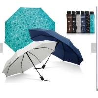 Quality Waterproof Lightweight Folding Self Opening UmbrellaRubber Coating Handle Many Colors for sale