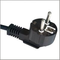 Quality European power supply cord with CEE7/7 schuko plug VDE approval for sale