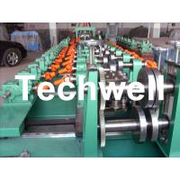 Quality Auto Size Changeable C Z Shaped Purlin Roll Forming Machine With Gimbal Gearbox Drive for sale