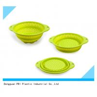 Quality food grade durable Silicone Rubber Products folding basin for household for sale