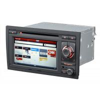 """Quality ST-8604 AUDI A4 6.5"""" LCD GPS, Bluetooth, 3G Audi Navigation DVD With Steering Wheel Controller for sale"""