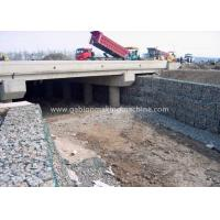 Quality Galvanized Gabion Box / Gabion Wall Baskets For Strengthening Soil Structure for sale
