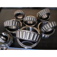 Quality Chrome Steel Gcr 15 Single Row Tapered Roller Bearings With Brass / Bronze Cage for sale