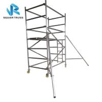 Quality Flexible Aluminium Mobile Scaffold Work Platform Ringlock With Complete Accessories for sale