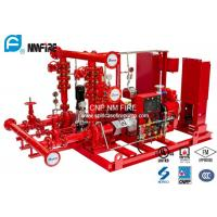 Quality Ductile Cast Iron Diesel Fire Pump Package 100PSI UL/FM/NFPA20 Listed for sale