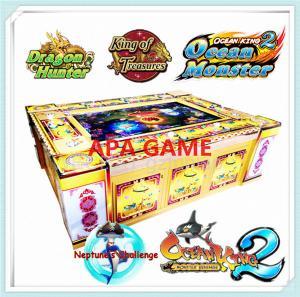 Quality 8P ocean king 2 plus latest igs orginal software monster revenge arcade vending machine for sale