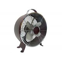 Quality Retro Metal Electric Table Fan With Full Copper Motor 90 Degree Oscillation 2 Speed for sale