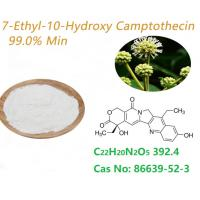 Quality Natural Camptotheca Acuminata Extract 7 Ethyl 10 Hydroxycamptothecin SN38 99.0% HPLC for sale