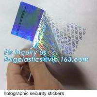 Quality Sliver Self Adhesive Void Sticker Label,Removed Label Custom Best Price High Quality Void Label Sticker Open Void Securi for sale