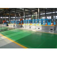 Quality Straight Seam High Frequency ERW Pipe Tube Mill With Computer-Controlled for sale
