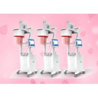 Quality 808nm 650nm Diode Laser Hair Growth Machine 200W LED Light Yellow Blue Red for sale