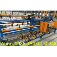 Buy Double wire feeding Fully Automatic Chain Link Fence Making Machine with CE at wholesale prices