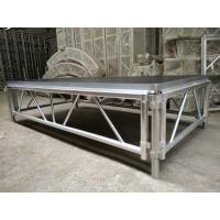 Buy 4*8 Feet Assembly Outdoor Used Portable Anti slip Aluminum and Wooden Wedding Stage at wholesale prices