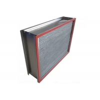 Quality Customized 1000m³/h H14 HEPA Air Filter with Stainless Steel Frame for sale