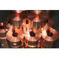 Quality High Precision Copper Strip C1100 0.01mm - 2mm , Copper Coils for sale