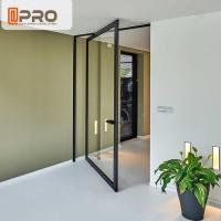 Quality Thermal Break Aluminum Pivot Doors Color Optional For Residential And Commercial for sale