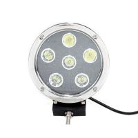 Quality High Intensity 5.5'' Black Round Led Fog Driving Lights 9 - 36v 60W Waterproof IP68 for sale