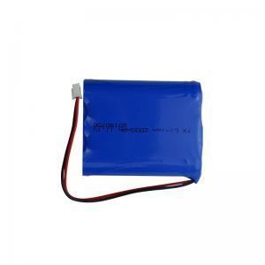 Quality 12 Volt 2000mAh CC CV 18650 Rechargeable Battery 1C Discharge for sale