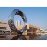 Buy cheap 500cm Large Outdoor Metal Sculptures Abstract For Building Decoration from wholesalers