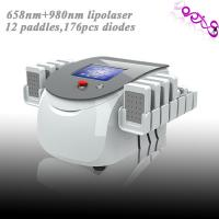 China Dual Wave Length Laser Liposuction Machines 176 Mitsubishi Diodes 100MW on sale