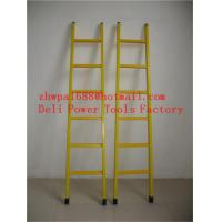 Quality Fiberglass Insulation ladder&FRP Square Tube A-Shape insulated ladders for sale