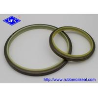 Buy cheap High Temp Dust Wiper Seal , IRON Metal Wiper Seal PU Material FD4046-E1 DKBI from wholesalers