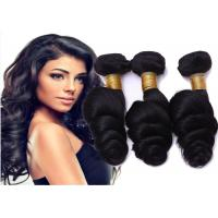 Quality No Shedding No Tangle  Indian Human Hair Weave For Sexy Black Women for sale