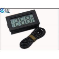 Quality Embedded Electronic Thermometer Aquarium Significant  Metal Detector Head Sensor LCD for sale