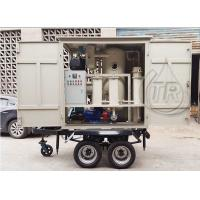 Buy Easy Move Portable Double Vacuum Transformer Oil Purification Equipment for Sale at wholesale prices